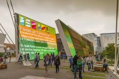 Expo Milano 2015 - Italia Fotografia Stock
