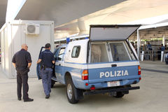 EXPO MILANO 2015 Police Stock Photos