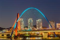 EXPO most w Daejeon Zdjęcie Stock