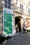 Expo orgánica de los productos Fotografía de archivo libre de regalías