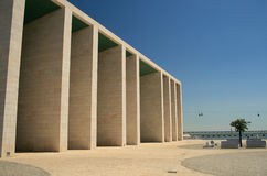 Expo Park Lisbon Royalty Free Stock Photography