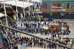 Expo-plaats 2015 Milan Italy Stock Afbeelding