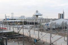 EXPO Plaza στον εκθεσιακό χώρο του Αννόβερου Στοκ Εικόνες