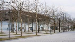 EXPO Plaza στον εκθεσιακό χώρο του Αννόβερου Στοκ εικόνα με δικαίωμα ελεύθερης χρήσης