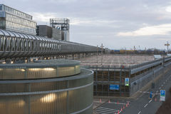 EXPO Plaza στον εκθεσιακό χώρο του Αννόβερου Στοκ Φωτογραφίες