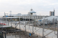 Expo Plaza on Hannover fairground Stock Images