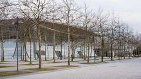 Expo Plaza on Hannover fairground Royalty Free Stock Image