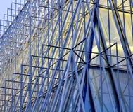 Expo-poort in Milaan 2015, tijdelijke structuur Royalty-vrije Stock Foto's