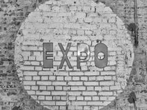 EXPO sign Royalty Free Stock Photos