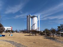 Expo tower in Yeosu city Stock Images