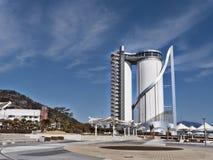 Expo tower in Yeosu city Stock Photo