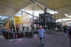 EXPO trebuchet Στοκ Εικόνα