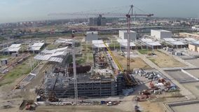Expo 2015 yard stock footage