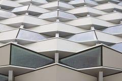 Expo Zaragoza, de Moderne bouw, Spanje Stock Fotografie