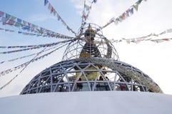 expo2010 Nepal pawilonu dach Shanghai Obraz Royalty Free