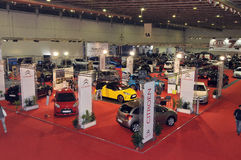 Expoauto 2010. BATALHA - OCTOBER 29:  Event of the EXPOAUTO -  Outdoor Cars, accessories and equipment, workshop on October 29, 2010 in Batalha in Portugal Stock Photography