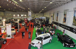 Expoauto 2010. BATALHA - OCTOBER 29:  Event of the EXPOAUTO - Outdoor Cars, accessories and equipment, workshop on October 29, 2010 in Batalha in Portugal Stock Photo