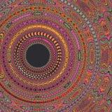 Expolosion colorido do fundo do teste padrão do caleidoscópio da mandala Imagens de Stock