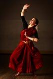 Exponente de la danza de Bharat Natyam Fotos de archivo