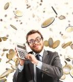 Exponentialer Gewinn des Wachstums Lizenzfreie Stockbilder