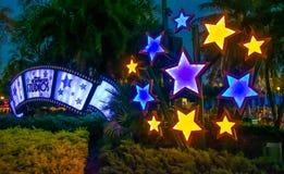Exponerade Hollywood studior undertecknar på Walt Disney World 1 arkivbilder