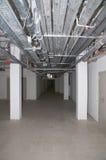 exponerat tomt för källare Arkivfoto