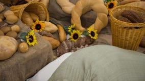 Exponering av bageriprodukter Royaltyfria Bilder