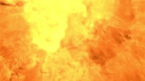 Exponering av brand som riktas på kameran på natten lager videofilmer