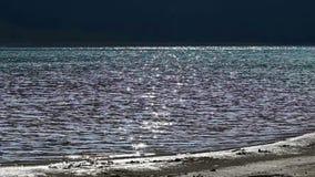 Exponeringar på sjökust lager videofilmer