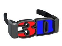 exponeringsglas 3d vektor illustrationer