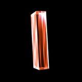 exponeringsglas 3d letter jag red Arkivfoton