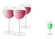 exponeringsglas vektor illustrationer