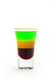 Exponeringsglas av alkohol Arkivfoto