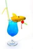 Exponeringsglas av alkohol Arkivbilder