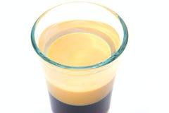 Exponeringsglas av alkohol Fotografering för Bildbyråer