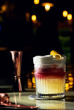 Exponeringsglas av alkohol Royaltyfri Fotografi