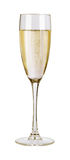Exponeringsglas av champagne Arkivfoto