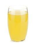 Exponeringsglas av citronjuice arkivbilder