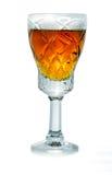 Exponeringsglas av cognacen royaltyfri fotografi