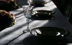 Exponeringsglas av exponeringsglaset av tabellen Royaltyfria Foton