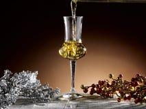 Exponeringsglas av grappa Royaltyfria Bilder