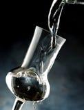 Exponeringsglas av grappa Fotografering för Bildbyråer