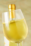 Exponeringsglas av italiensk vit wine Arkivbild
