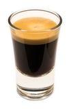 Exponeringsglas av kaffe Royaltyfri Bild