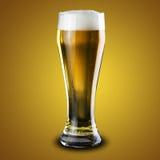 Exponeringsglas av kallt öl Royaltyfri Bild