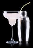 Exponeringsglas av Pina Colada Cocktail Arkivbild