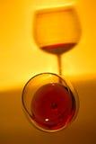 Exponeringsglas av rosa vindanandeskugga Arkivbild