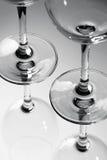 Exponeringsglas av svartvitt Arkivfoton