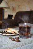 Exponeringsglas av tea Arkivfoton