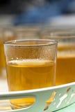 Exponeringsglas av tea Arkivbilder